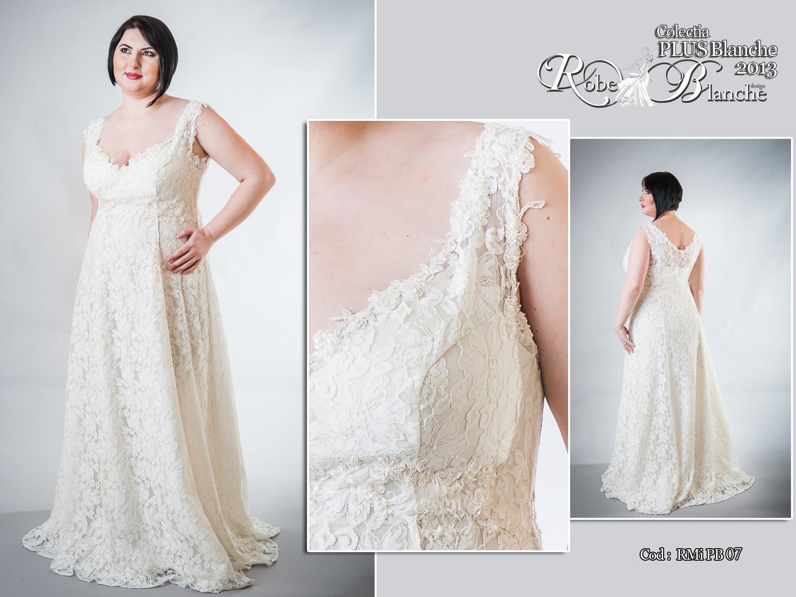 Rochie de mireasa stil printesa- Robe Blanche Design- realizata pe comanda-RMiPB07